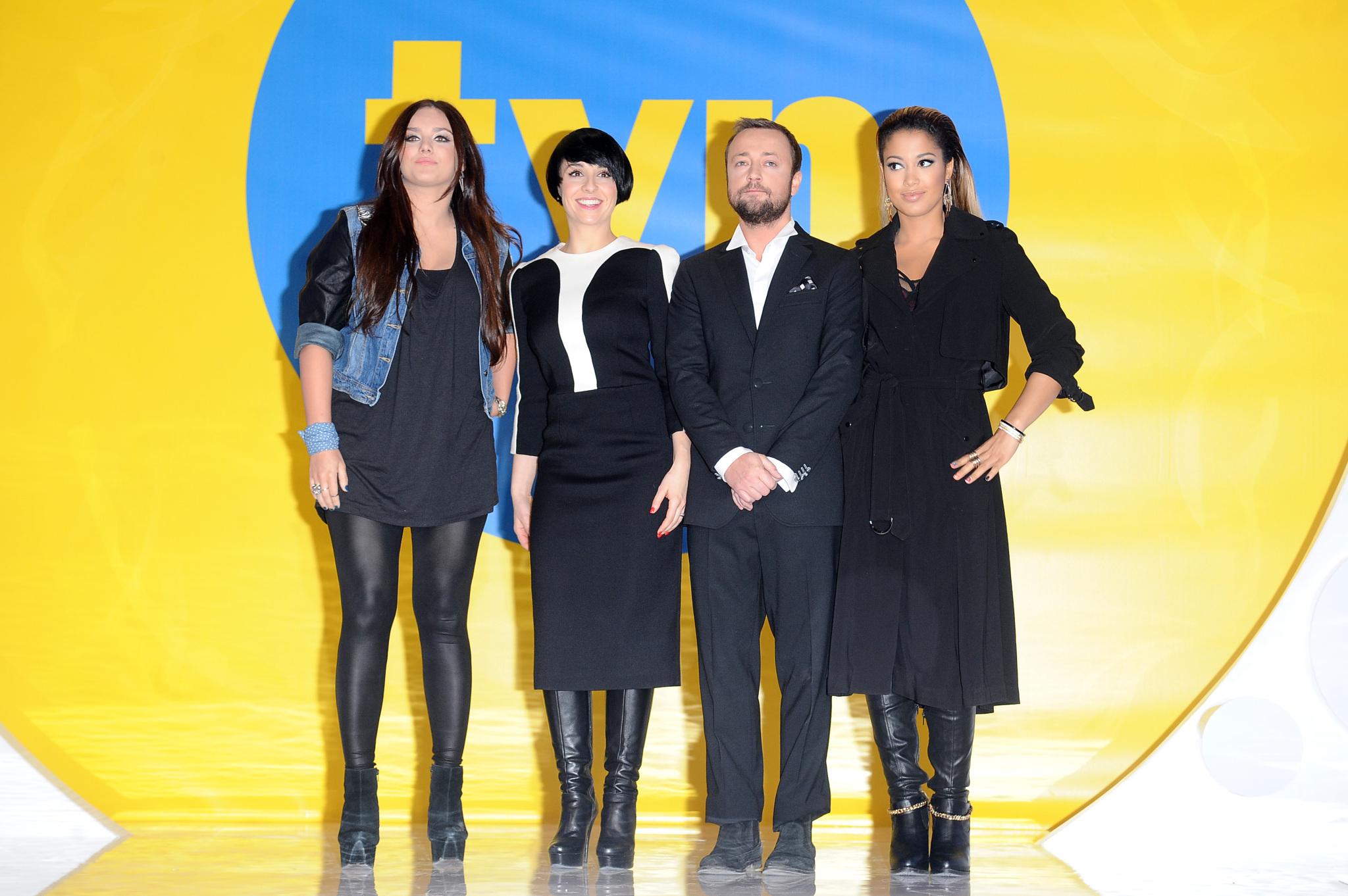 """Gwiazdy """"X Factor"""" na prezentacji oferty programowej TVN"""